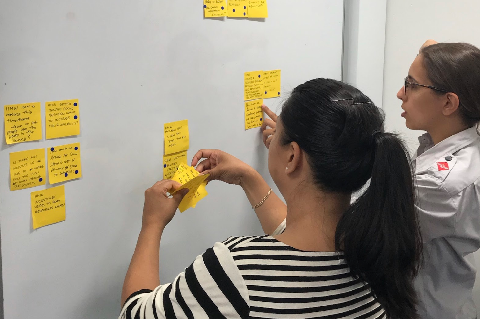 Documenting the user research findings