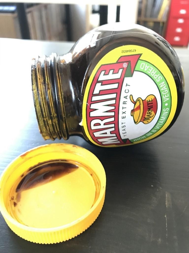 A jar of Marmite