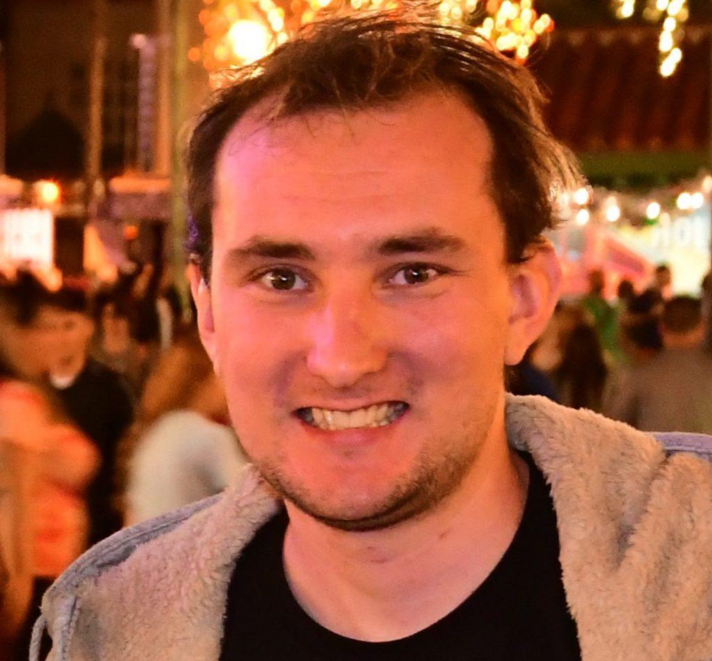 ECC's front end developer, Thomas Moore